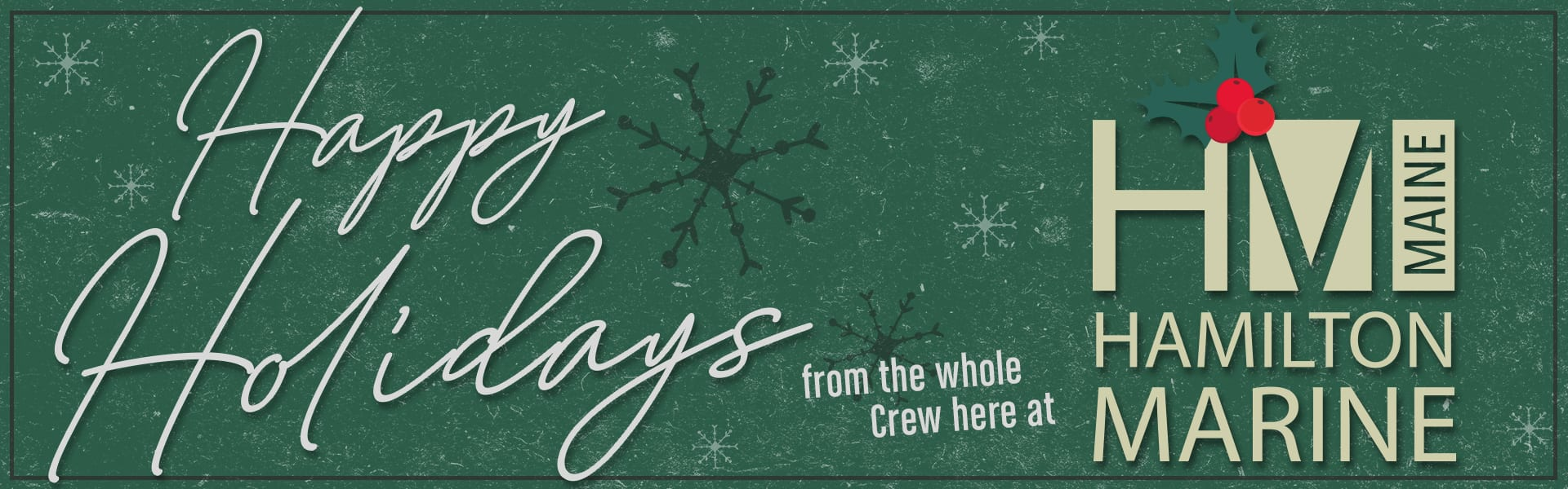 Happy Holidays from HM