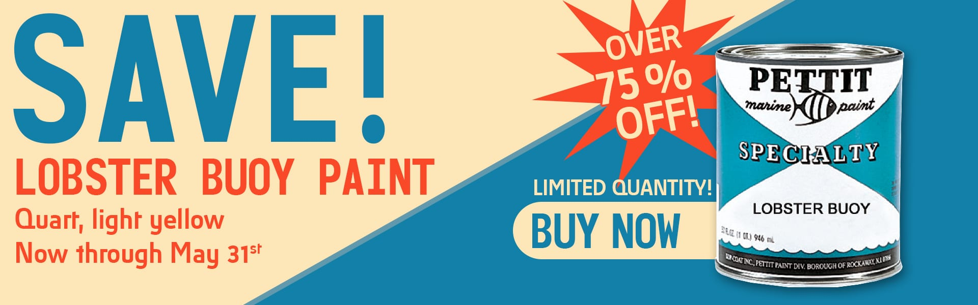 SAVE on Lobster Buoy Paint