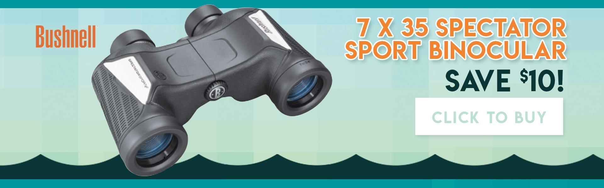 SAVE: Sport Binoculars