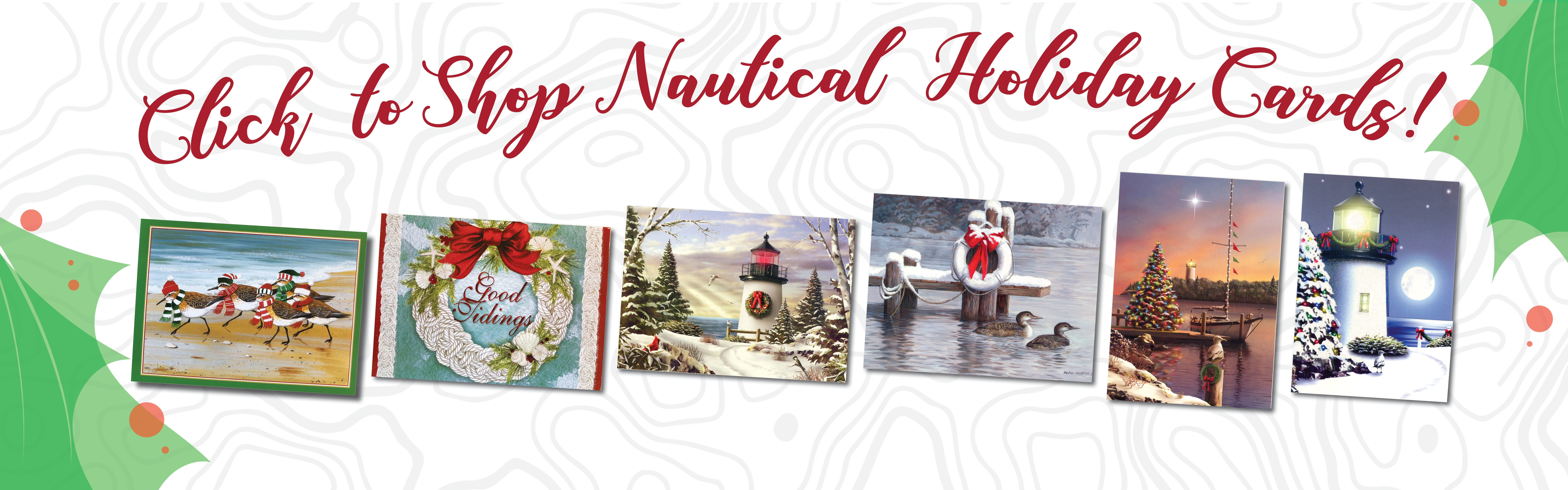 XMAS19 Nautical Cards