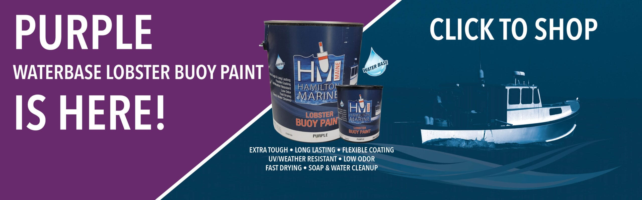 HM Purple Lobster Buoy Paint is Here!