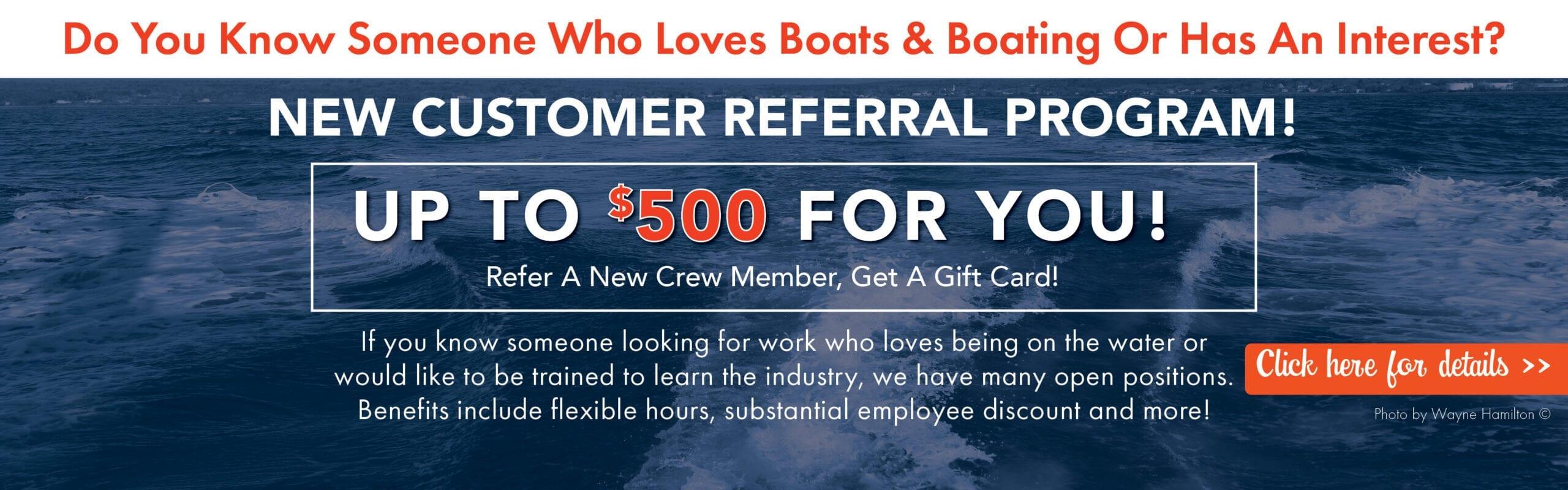 Customer Referral Program